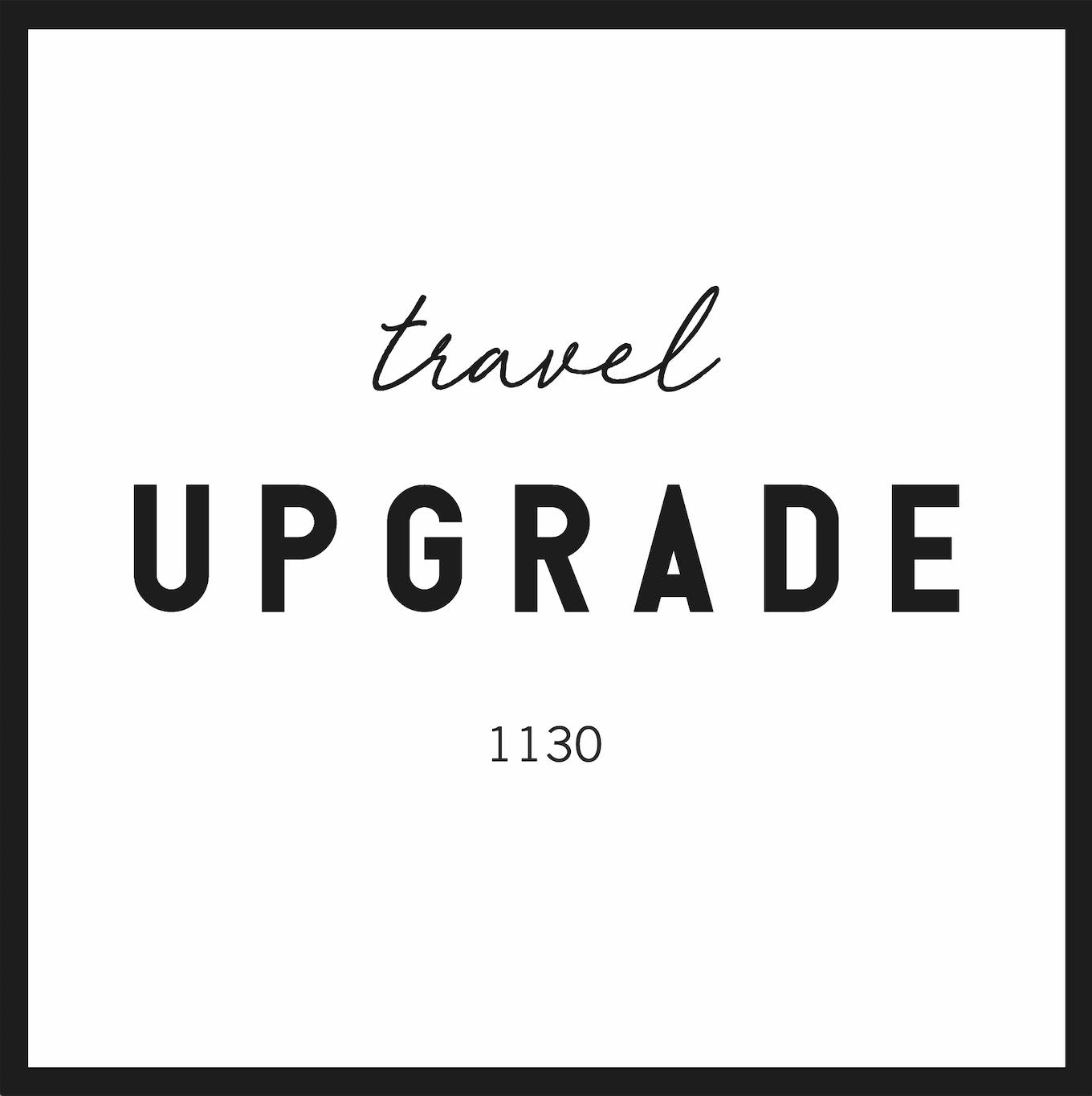 travel UPGRADE world Logo